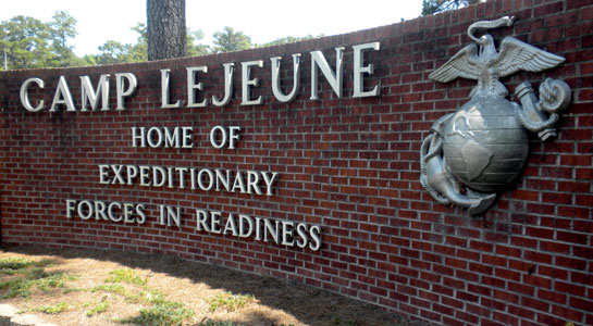 Camp Lejeune toxic water