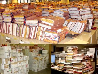 Veteran information claims backlog files