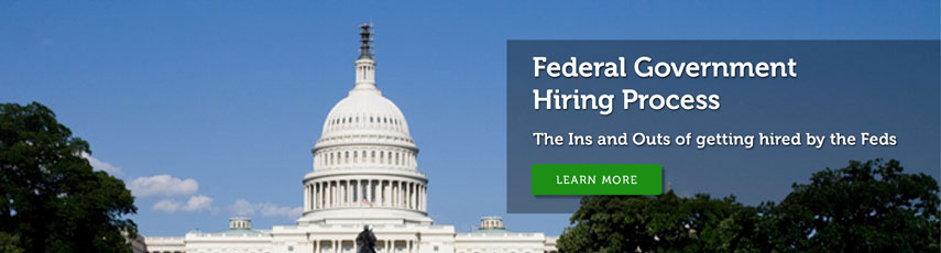 Federal jobs for veterans
