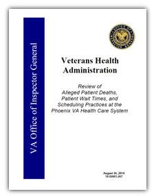 Phoenix VA report