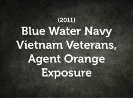 Veterans and Agent Orange