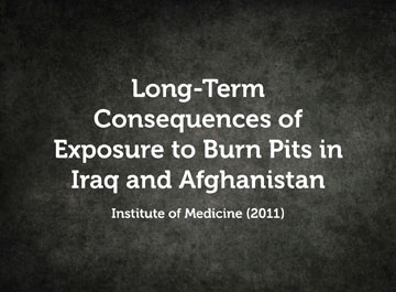 Long-Term Consequences of Exposure to Burn Pits in Iraq and Afghanistan