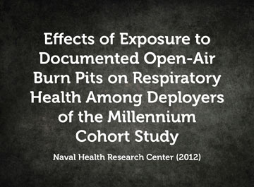 Effects of Exposure to Documented Open-Air Burn Pits on Respiratory Health Among Deployers