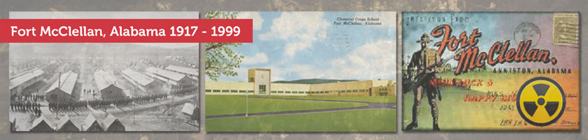 Fort McClellan timeline