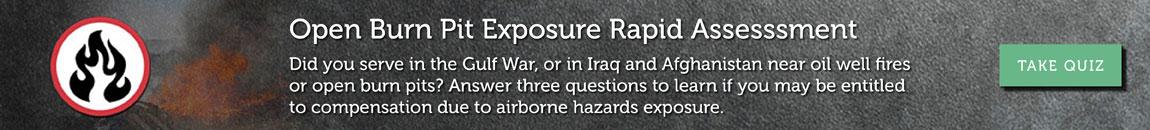 Burn pit exposure